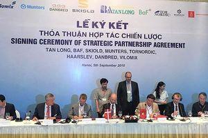 Tập đoàn Tân Long và 6 công ty Đan Mạch ký hợp tác sản xuất nông nghiệp