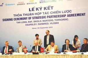 Việt Nam - Đan Mạch ký kết hợp tác về sản xuất nông nghiệp