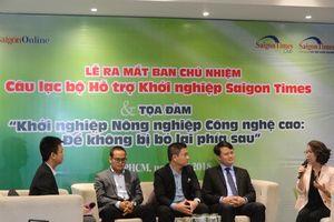 Ra mắt CLB Hỗ trợ Khởi nghiệp Saigon Times