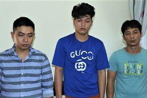 3 tên trộm bị bắt khi đang nghỉ tại khách sạn