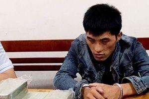 Bắt đối tượng vận chuyển 10 bánh heroin ở Nghệ An