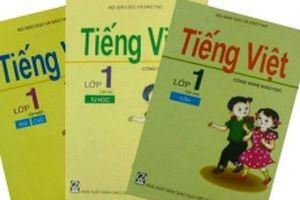 Bộ GD-ĐT nêu quan điểm về sách tiếng Việt lớp 1 Công nghệ giáo dục