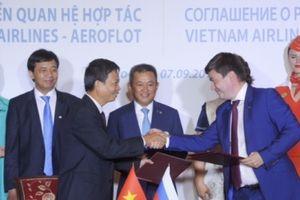 Vietnam Airlines và Aeroflot ký kết thỏa thuận phát triển quan hệ hợp tác