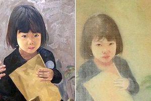 Nghi vấn tranh giả chữ ký họa sĩ Giáng Hương: Tại anh, tại ả