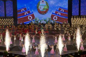 Chùm ảnh lễ kỷ niệm Ngày Quốc khánh đặc biệt hiếm có của Triều Tiên