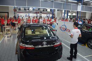 Toyota Việt Nam tổ chức Hội thi tay nghề giỏi lần thứ 20