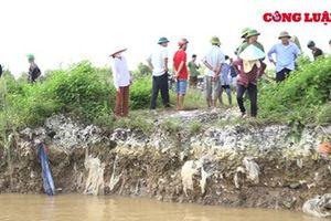 Tứ Kỳ, Hải Dương: Phát hiện nhiều bãi rác thải ô nhiễm ven sông Thái Bình