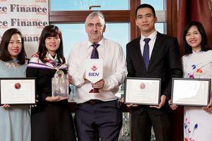 BIDV nhận ba giải thưởng của tạp chí quốc tế