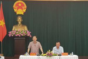 Bộ trưởng Nguyễn Văn Thể làm việc với lãnh đạo tỉnh Nam Định