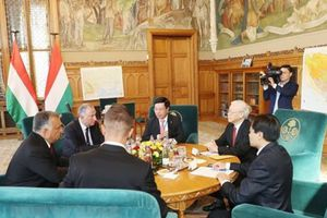 Việt Nam, Hungary nâng tầm quan hệ lên Đối tác toàn diện