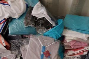 Khởi tố vụ buôn lậu gần 70.000 quần áo 'ngoại'