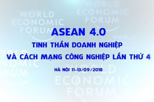 WEF ASEAN - Hoạt động đối ngoại đa phương lớn nhất trong năm