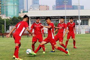 U19 Việt Nam tích cực tập luyện, chuẩn bị tham dự Cúp Tứ Hùng