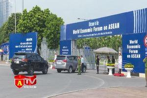 CATP Hà Nội đảm bảo an ninh, an toàn cho Diễn đàn Kinh tế thế giới về ASEAN