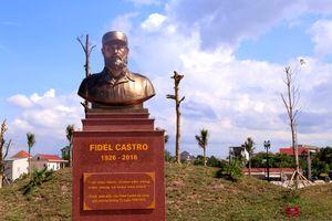 Quảng Trị có công viên hơn 100 tỷ mang tên lãnh tụ Cuba