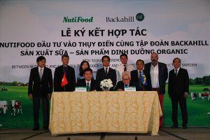 NutiFood đầu tư vào Thụy Điển, cùng tập đoàn Backahill sản xuất sữa, thực phẩm dinh dưỡng