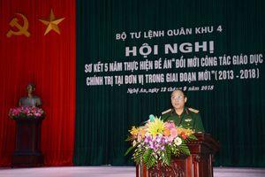 Quân khu 4 triển khai nhiều giải pháp đổi mới công tác giáo dục chính trị tại đơn vị