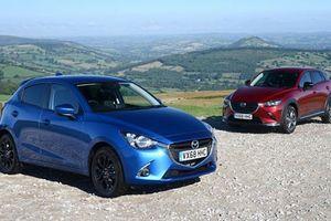 Chi tiết Mazda2 và CX-3 Black Edition 2018 bản giới hạn