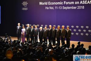 Khai mạc Hội nghị WEF ASEAN 2018