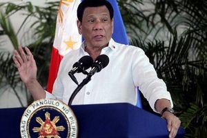 Tổng thống Duterte tiết lộ có 'bằng chứng' về âm mưu đảo chính