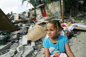 Số phận bi thương của trẻ em trên Dải Gaza