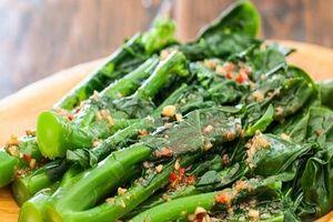 Mỗi ngày 1 bữa canh rau cải rổ, cơ thể nhận lấy loạt tác dụng không ngờ, quanh năm chẳng lo bệnh tật