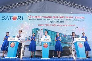 Khánh thành nhà máy sản xuất nước Satori tại Long An