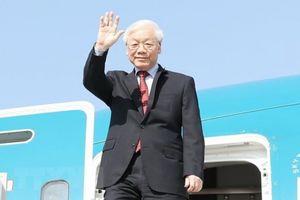 Tổng Bí thư kết thúc tốt đẹp chuyến thăm chính thức LB Nga và Hungary