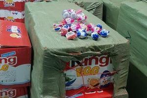 1,5 tấn bánh kẹo quả trứng King Egg không rõ nguồn gốc