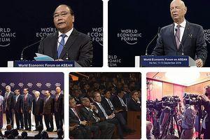 Khai mạc phiên toàn thể Diễn đàn Kinh tế Thế giới về ASEAN 2018