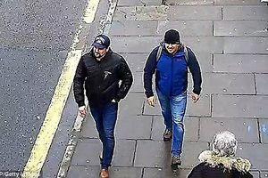 Hé lộ hình ảnh 2 nghi phạm ám sát cha con cựu điệp viên Nga Skripal