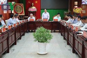 Trưởng Ban tổ chức Trung ương làm việc với tỉnh Sóc Trăng