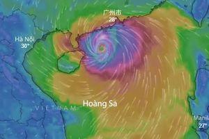 Siêu bão Mangkhut vào Biển Đông trong 2 ngày tới