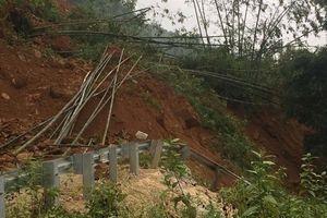 Nhiều công trình giao thông, hồ đập của Thanh Hóa bị sạt lở, hư hỏng