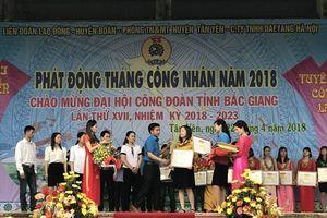Bắc Giang: LĐLĐ huyện Tân Yên giải quyết tốt 548 ý kiến của công nhân viên chức lao động