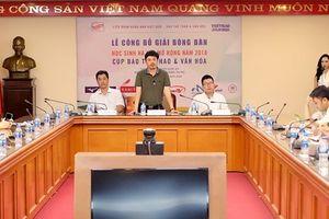 Tìm kiếm tài năng trẻ ở giải bóng bàn học sinh TP.Hà Nội mở rộng 2018
