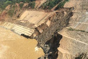 Thanh Hóa: Gần đập thủy điện Trung Sơn xuất hiện vết sạt trượt