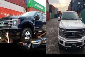 Bộ đôi siêu bán tải Ford lần đầu tiên về Việt Nam