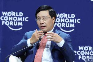 Từ Hà Nội, ngoại trưởng Nhật Bản tuyên bố phản đối mọi nỗ lực đơn phương thay đổi trật tự khu vực