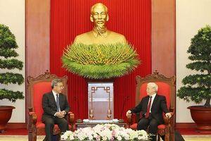 Lãnh đạo Đảng, Nhà nước tiếp lãnh đạo cấp cao các nước
