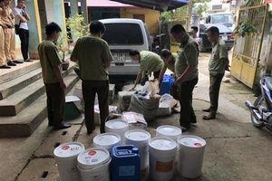 Lạng Sơn: Nhập lậu gần nửa tấn phụ gia thực phẩm từ Trung Quốc