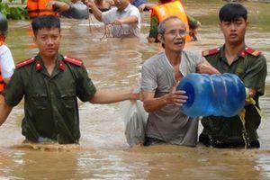 Trung úy công an gặp nạn trên đường giúp dân phòng chống lũ