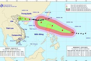 Tin bão mới nhất ngày hôm nay 13/9: Bão số 5 chỉ cách Móng Cái 230km