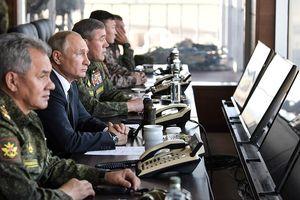 Tổng thống Putin: Cuộc tập trận lớn nhất lịch sử bước đầu đã thành công