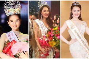 Những người đẹp đoạt giải Hoa hậu - Á hậu ao làng giờ ra sao?