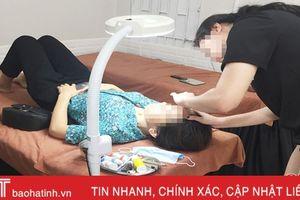 Cơ sở phẫu thuật thẩm mỹ ở Hà Tĩnh: 'Trăm hoa đua nở'!