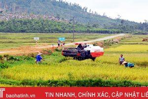 Thực hư chuyện 'ép' nông dân thuê máy gặt giá cao ở Kỳ Xuân