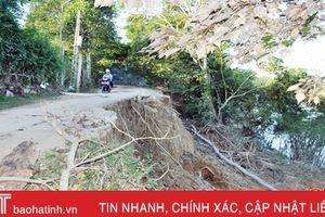 Hà Tĩnh đề nghị Bộ NN&PTNT hỗ trợ xử lý sạt lở bờ đê La Giang