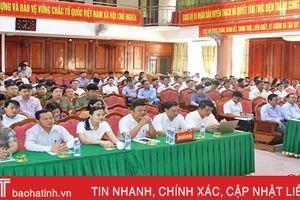 Thạch Hà tăng cường kiểm tra, giám sát Đảng và kiểm soát ma túy