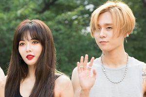Chỉ vì công khai hẹn hò, 'nữ thần sexy' HyunA và bạn trai bị công ty 'đuổi cổ'